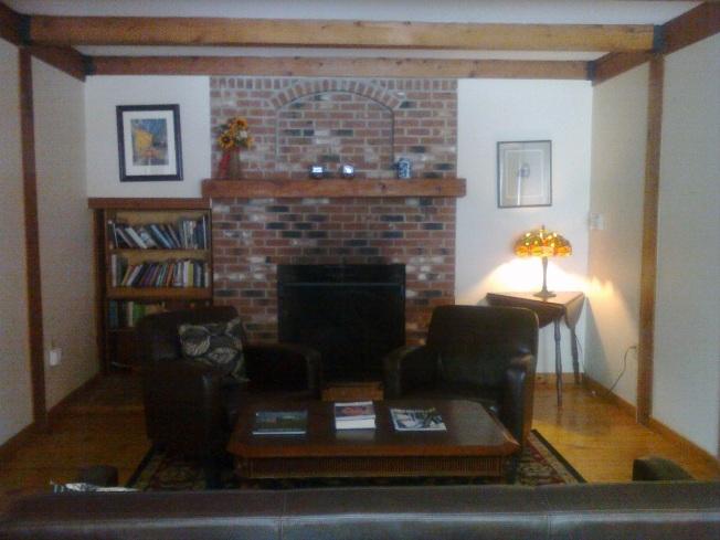 Snowvillage Chimney House lounge