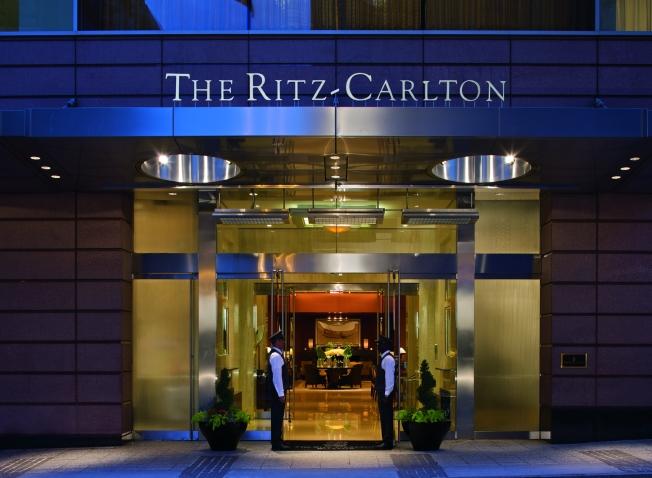 Entrance to Ritz-Carlton, Boston Common