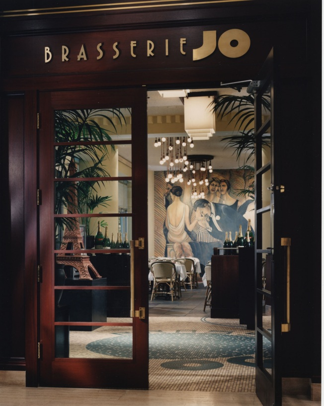 Brasserie JO Boston Entrance