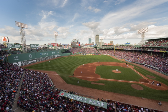 BOSTON, MA - JUNE 6: The Boston Red Sox face the Oakland Athletics at Fenway Park in Boston, Massachusetts on June 6, 2015. (Photo by Michael Ivins/Boston Red Sox/Getty Images) *** Local Caption *** Fenway Park